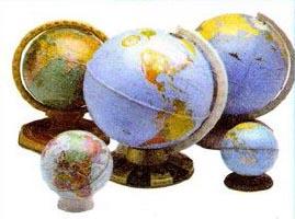 Небо и небесная сфера Природоведение Реферат доклад сообщение  Рис 43 Глобусы