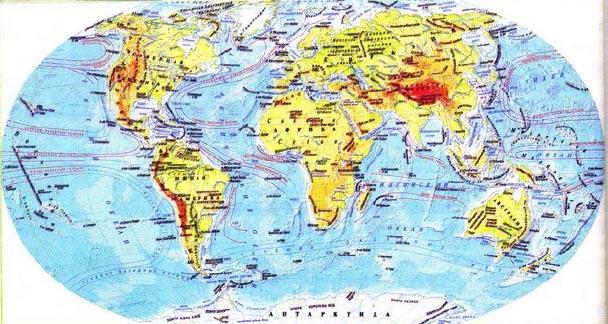 Доклад на тему географическая карта 3141