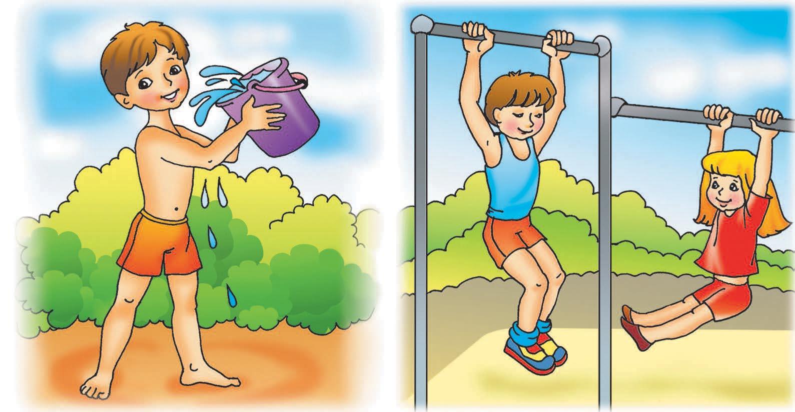сочинение про здоровый образ жизни 4 класс